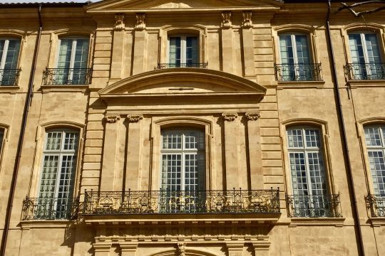 The Hotel de Caumont, a unique Art Center in Aix-en-Provence