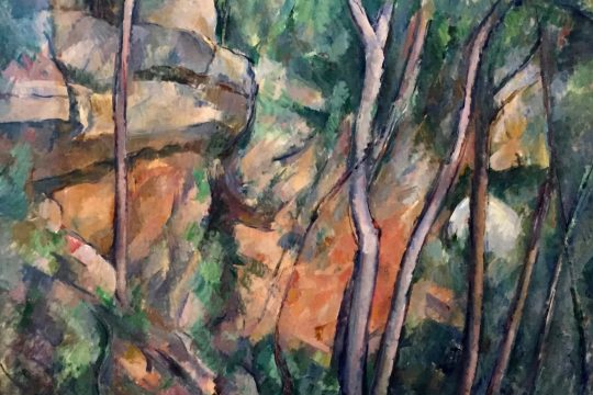 in the footsteps of Cézanne