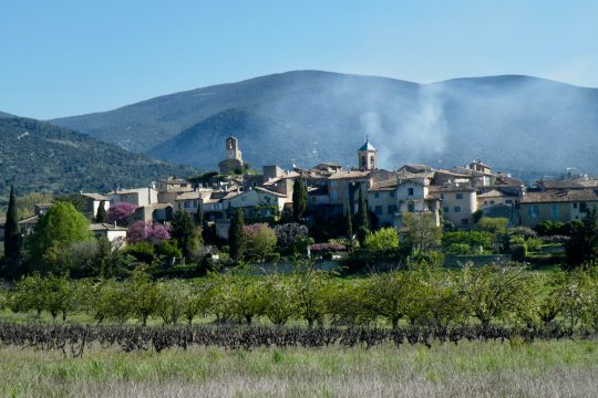 Perched villages in Luberon