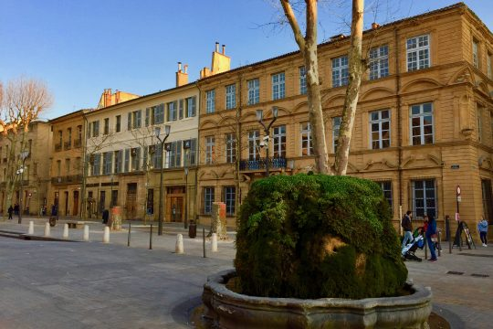 Private tour guide Aix-en-provence fountains