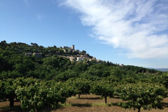 Private tour village of lacoste in Luberon