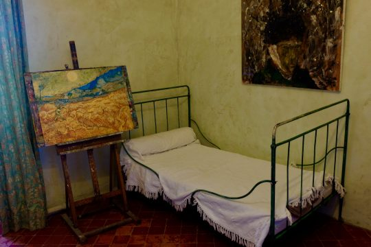 Van Gogh's bedroom in Saint Remy